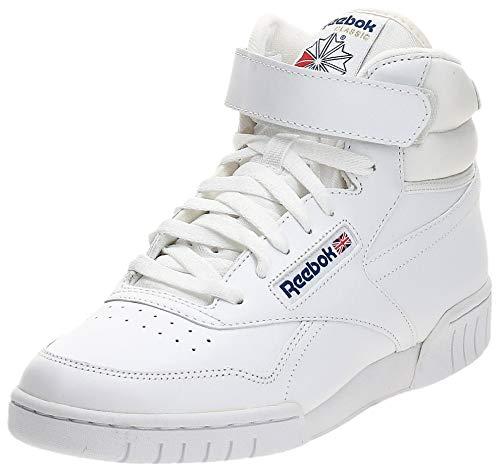 Reebok EX-O-FIT High Zapatillas altas, Hombre, Blanco (Int-White), 44