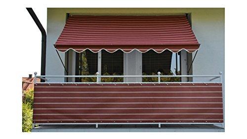 Angerer Klemmmarkise 200 cm, Design Nr. 2200 2300/2200 Markise Rot 150 x 200 x 225 cm