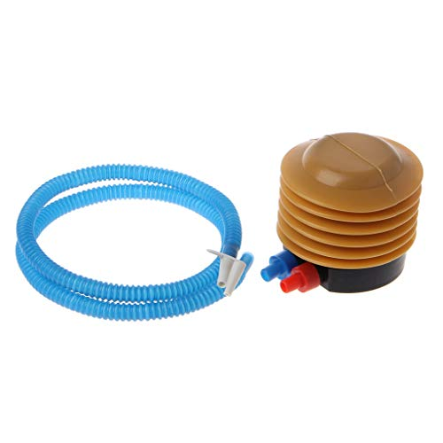 JOYKK Voet Ballon Luchtpomp Hand Duw Yoga Bal Inflator Accessoires Voor Opblaasbare - Blauw & Bruin