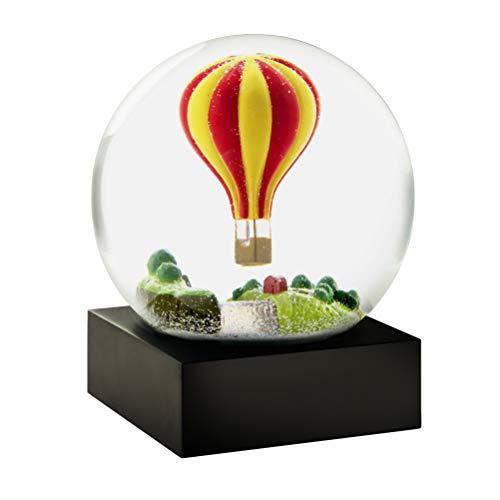 CoolSnowGlobes Hot Air Balloon Snow Globe