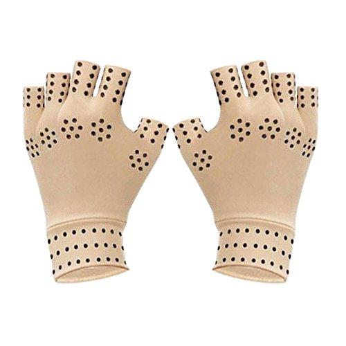 OFKPO 1 Paar Anti-Arthritis Handschuhe,Elastizität Atmungsaktiv Handschuhe