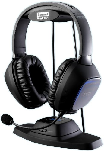 Creative Soundblaster Tactic3D Omega Wireless Gaming Headset for Xbox 360/PS3/PC/MAC