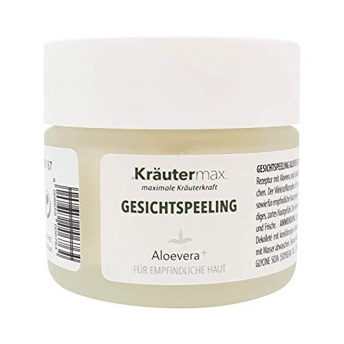 Kräutermax Peeling facial à l'aloe vera 1 pointe sensible de 50 ml