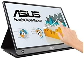 "Asus ZenScreen Touch MB16AMT FHD IPS USB Micro-HDMI Portable Monitor, 15.6"" Black"