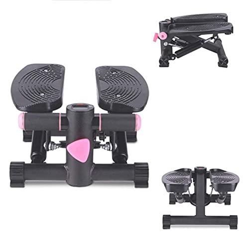 HMBB Plataformas paso turística máquina elíptica, bajo el escritorio del pedal ejercitador de bicicletas con construido en la pantalla del monitor, el mini escritorio tranquila Resistencia Ciclo Ejerc