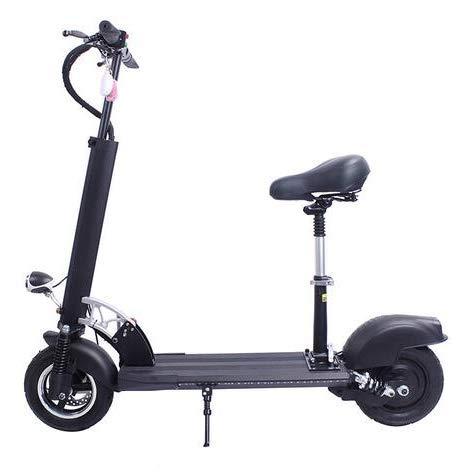 Lirui Elektrische scooter, opvouwbaar, voor volwassenen, 500 W, max. snelheid 50 km/u, met 10 inch banden voor tieners, comfortabel en snel