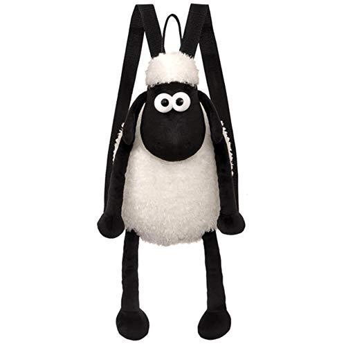 Shaun the Sheep Women's Backpack, Black and White, 33cm