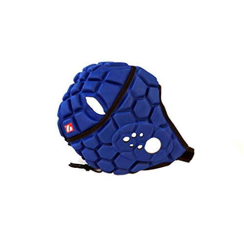 BARNETT Heat PRO Rugby Helm, Spielhelm Profi, Farbe königsblau (L)