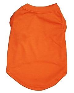 Petitebelle Chiot Robe Vêtements Uni sans Manches Coton Tee T-Shirt