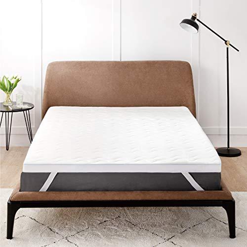 Bedsure Surmatelas 140 x 190 cm Memoire de Forme -...