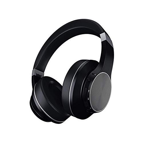 LXFTK Active Noise Canceling Kopfhörer, Head-Mounted Subwoofer Wireless Headset, Große Ohrenschützer Bluetooth Gaming Headset,