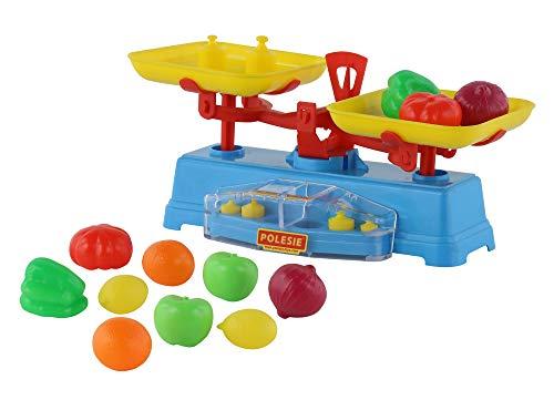 Polesie Balance Playset con Alimentos-Supermercado Juguetes-12-Piezas, Multicolor (Polesie53787)