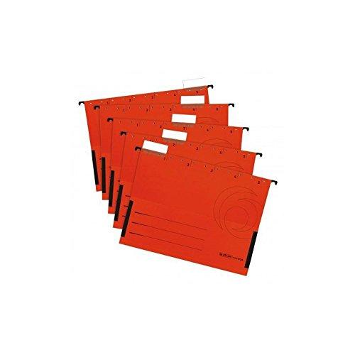 Herlitz 5874797 Hängetasche rot 5er Packung