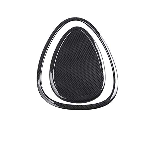 para Mini para Cooper S One Plus JCW F54 F55 F56 F57 Clubman Estilo De Coche, Decoración De Coche, Pegatina De Salida De Aire Acondicionado (Color : Fibra de Carbon)