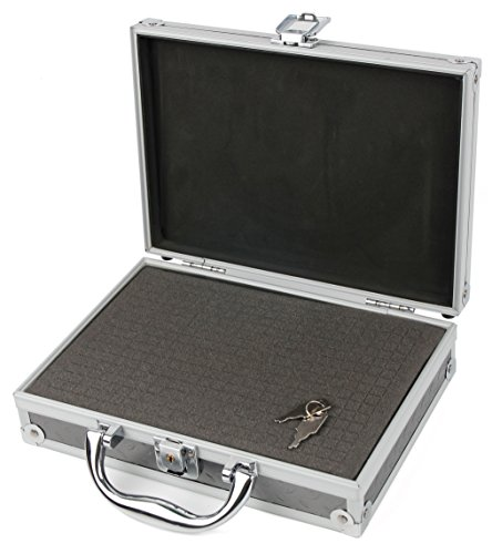 DURAGADGET Aluminium EVA Case with Customizable D.I.Y Foam Interior - Compatible with The ASUS Tinker Board/Tinker Board S