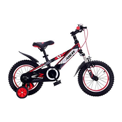 Bicicletas for Niños, Bicicletas for Niñas, 2-3-4-6-7-8-9-10 Años, Bicicletas for Niños, Bicicletas De Montaña, Bicicletas for Estudiantes De 12/141416/18/20 Pulgadas ( Color : RED , Size : 14INCHES )