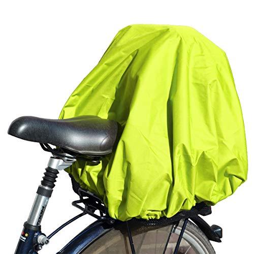 NICE'n'DRY Abdeckung und Regenschutz für Fahrradkorb XXL, Neongelb