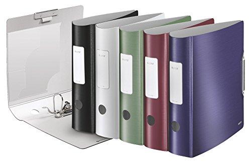 LEITZ 180° Active 10 Stück Rucksack 80 mm, verschiedene Farben, zufällige Farbauswahl
