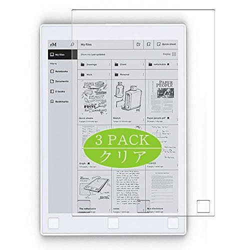 "VacFun 3 Piezas HD Claro Protector de Pantalla para Remarkable Papaer Tablet 10.3"", Screen Protector Sin Burbujas Película Protectora (Not Cristal Templado)"