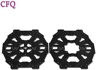 Accessories Tarot RC Carbon Fiber Main Plate Iron Man 650 DIY Fhexacopter Frame Quadrocopter Quadcopter Kit Frame Professional Drones Kit - (Color: Black)
