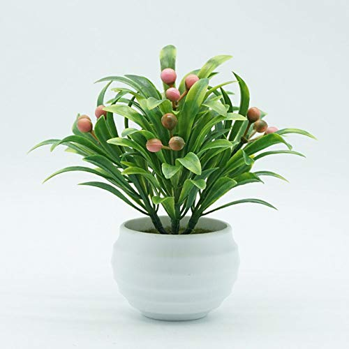 BRTTHYE kunstplant Baya in pot Bonsai woonkamer tuin kantoor meubels decoratie met wastafel