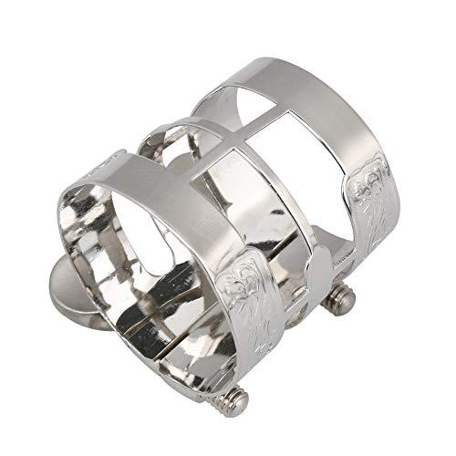 Yibuy Blattschraube für Klarinette, Metall, 27 x 4 mm 27x4mm/1.06x0.16inch(HxThreadLength) nickel