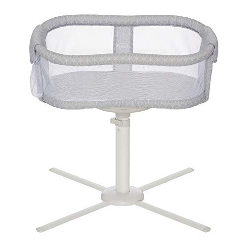 HALO Bassinest Swivel Sleeper Premiere Series Bassinet, River Stone