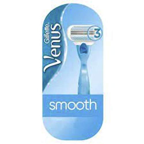 Gillette Venus - Cuchillas de afeitar lisas, dispositivo y cuchilla - 1 pieza