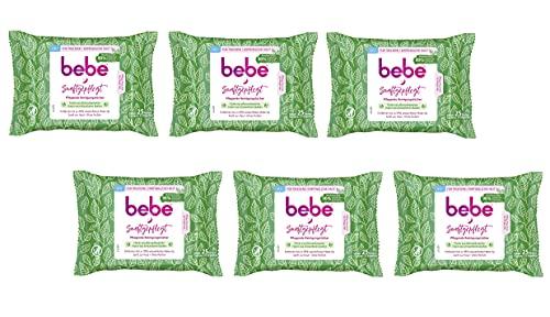 bebe Lingettes nettoyantes nourrissantes Santf - En fibres végétales.