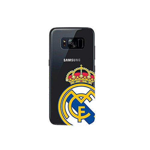 Real Madrid RMCAR015 - Carcasa con Escudo para Samsung Galaxy S8 Plus