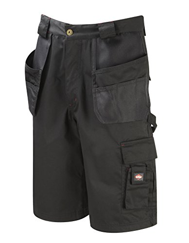 Lee Cooper LCSHO807 Holster Pocket Short, 34W, zwart, 35