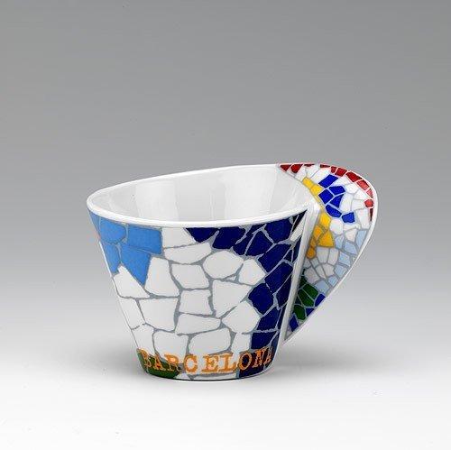Oval Coffee Gaudi Mug.
