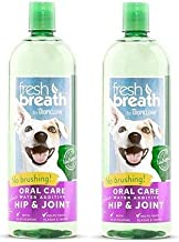 product image for TropiClean Fresh Breath Plus Hip & Joint Oral Care Water Additive for Pets (2 Pack)