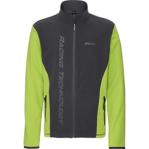 FLM Outdoor Fleecejacke Fleece Jacke Fleecejacken Fleecejacke Herren Sports Fleece Jacke Herren 2.0, Outdoor, Freizeit, Sportbekleidung, Microfleece, kontrastfarbene Details