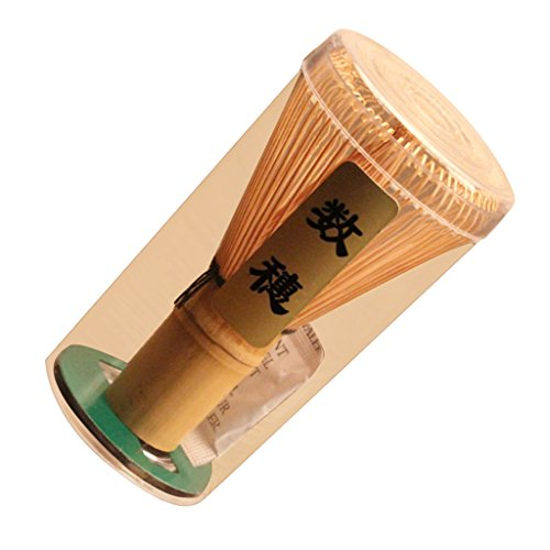 Chasen Bambu Herramienta Batidor de Polvo Matcha Te Japones Accesorio Ceremonia - 60-70