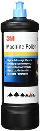 3M Machine Polish 09376 - Liquido Lucidante Polish per Auto, 1 Litro