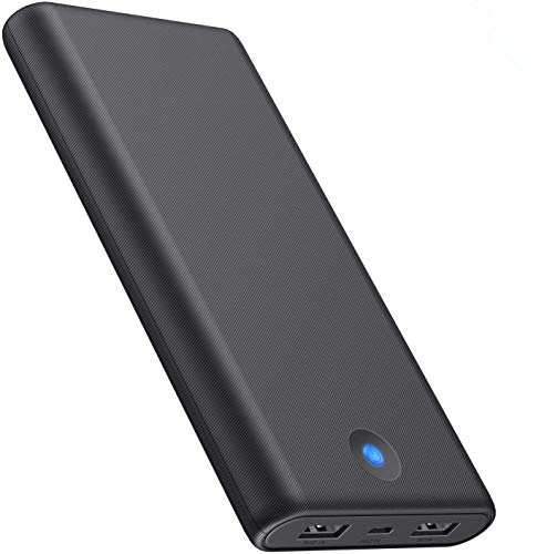 QTshinee Power Bank, [25800mAh High Capacity ] Portable Charger Power Pack High-Speed Charging External Battery Pack with LED Lights Power Banks Ultra Compact for Android/iOS Tablets and Smartphones