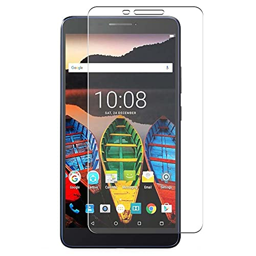 Vaxson 4-Pack Screen Protector, compatible with Lenovo Tab3 7 Plus TB-7703F 7' Tab 3, TPU Guard Film Protectors [ NOT Tempered Glass ]