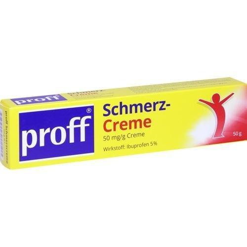 PROFF Schmerzcreme 5% 50 g