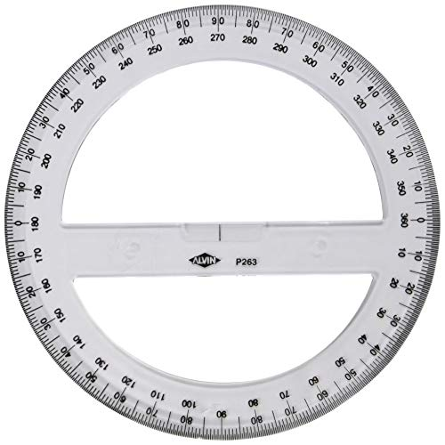 360Degree Protractor Angle Finder Sewing Student Office Engineer Tools GiftB FD