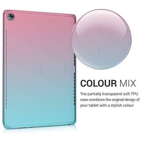 kwmobile Huawei MediaPad M5 10 / M5 10 (Pro) Hülle - Silikon Tablet Cover Case Schutzhülle für Huawei MediaPad M5 10 / M5 10 (Pro) - 3