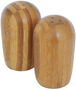 Natural Bamboo Wood Salt and Finally resale start With Phoenix Mall Pl Pepper Base Shakers