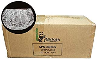 PandaSpa by Karlash Ultra Premium Spa Disposable Liners One Size Fits most Pedicure Spa 200pcs
