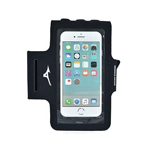 Mizuno Running Phone Arm Zubehör Tasche Black One Size