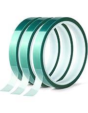 Polyester hoge temperatuur afplakband, PET-tape met siliconenlijm, ideaal voor schilderen, poedercoating, anodiseren, printplaten