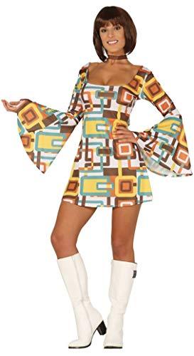 FIESTAS GUIRCA Disfraz de Discoteca Mujer 70s