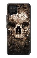 JP0552A12 スカル Skull Samsung Galaxy A12 ケース