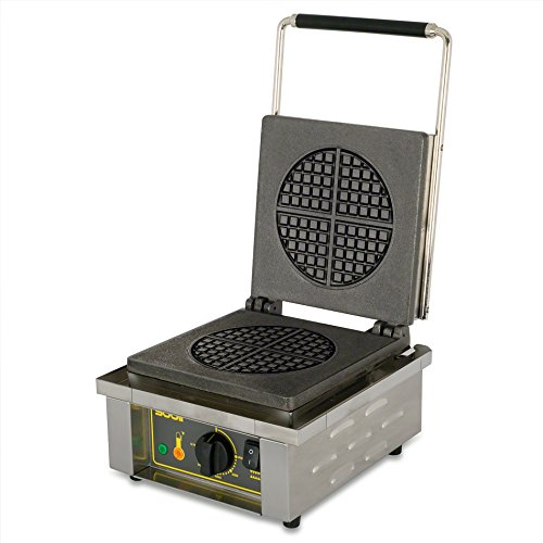 Find Bargain Equipex (GES70/1) - 25 Waffle/Hr Single Round Waffle Baker