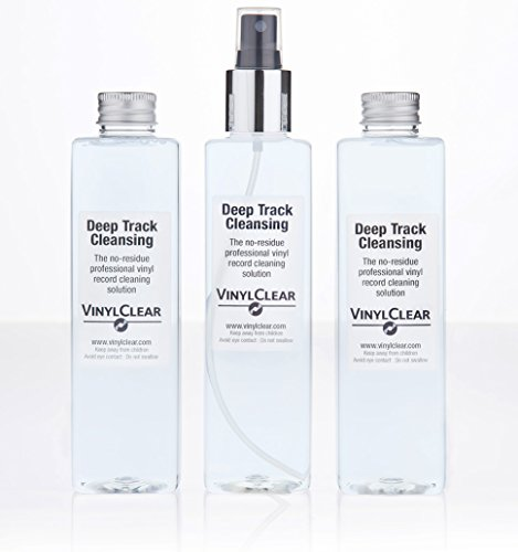 Vinyl Record LP Cleaning Anti-static Solution - 3 x 250ml Bottles by Vinyl Clear