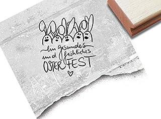 Transparent Klar Silikon Stempel F/ür DIY Scrapbooking Album Foto Dekorative MEIKONG Fr/öhliches Ostern-Kaninchen DIY Klar Silikonstempel Clear Stamp